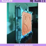 Het volledige Binnen LEIDENE van de Precisie van de Kleur P3mm Hoge Scherm van de Vertoning