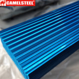 Hoja revestida del material para techos del color de la mayor nivel