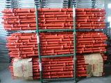 Materiales usados seguros del andamio de Cuplock para la construcción