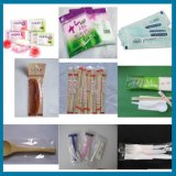 Dulce duro de alta velocidad / tejido húmedo / Hotel Desechable Cuchara Pillow tipo Pack Packing Machine