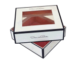 Caixa de embalagem cosmética personalizada do papel do ouro (YL-C05)