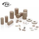 カスタマイズされたPztの物質的なPiezo製陶術のリングか版またはディスク