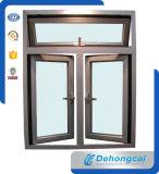 كسر حراريّ ألومنيوم شباك نافذة الصين نوع ذهب مموّن