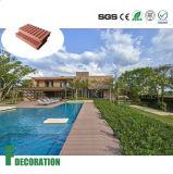 Decking ao ar livre composto da madeira de WPC para a decoração da piscina