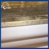 Microfibra De Gamuza Blanca Tela De La Toalla Cloth (QHSD6669)