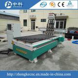 Maquinaria de carpintería del CNC del Atc del cilindro de 4 pistas