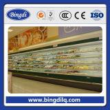 Nationaler Supermarkt-an der Wand befestigter preiswerter Minikühlraum-Schaukasten verwendet