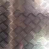 placa do passo do alumínio 5052 5005 5754 no teste padrão de 5 barras