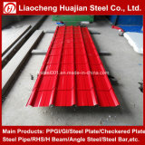 Tôle d'acier ondulée de qualité pour des feuilles de toiture en métal