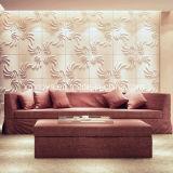Панель стены звукоизоляции 3D искусствоа самомоднейшая для предпосылки софы декоративной