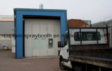 Matériel automatique industriel d'enduit, camion personnalisé/cabine jet de bus