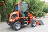 Chargeur Wl80 de roue de machine d'agriculture mini en Europe
