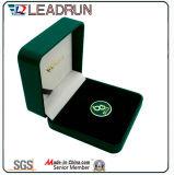 플라스틱 동전 수집 상자 커프스 단추 선물 상자 나무로 되는 현금 상자 우단 EVA 삽입 팩 상자 (G7)