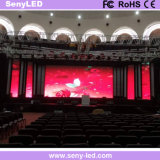 풀 컬러 임대 응용을%s 실내 옥외 P4.8 단말 표시 LED 벽
