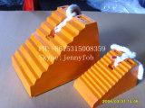 ゴム製車車輪ストッパー、ゴム製車輪のくさびの卸売