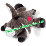 Le CE badine le jouet mou confortable de peluche d'âne de peluche de cadeau