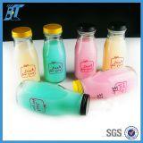 Milch-Glasflaschen-Joghurt-Glasflasche des Nahrungsmittelbehälter-280ml 10oz mit Metallkappe
