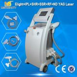 최신! E-Light+RF+IPL+ Laser ND YAG 기계