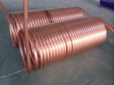 Bobina di rame in acciaio inox riscaldatore di acqua solare