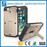 Geval van Smartphone van het Zwaard van de Haai van het Pantser van de tank het Ruwe voor iPhone 7/7 plus