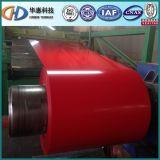 La couleur de PPGI a enduit la bobine en acier galvanisée enduite d'une première couche de peinture