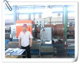 Grande torno horizontal do CNC para girar a grande tubulação, o rolo de aço e os cilindros (CG61100)
