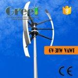 Turbina di vento verticale di asse per l'annuncio pubblicitario, azienda agricola, uso della casa