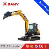 Sany Sy215 21.5 T 판매를 위한 중간 크롤러 굴착기