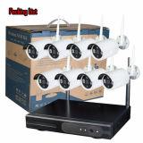 A câmera ao ar livre sem fio do IP do sistema de segurança Home de 8 canaletas com 1.0MP termina jogos de NVR