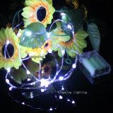 indicatore luminoso di rame della stringa di 3m 10FT LED per la decorazione domestica della festa nuziale di Holida dell'albero di Natale del giardino della camera da letto