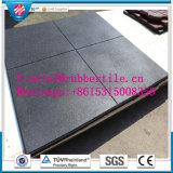 Крытая резиновый плитка пола/блокируя Paver цветастого парка резиновый (GT0103)