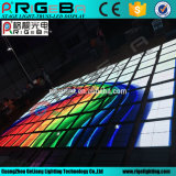 Arylic Disco Stage P10 Al aire libre 61 * 61 Cm LED Video Dance Floor