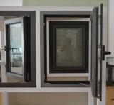 Finestra di alluminio della stoffa per tendine di profilo della rottura termica di alta qualità con la multi serratura Kz020