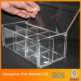 Caixa acrílica do tecido/caixa de papel plástica transparente para a HOME/hotel