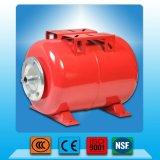 19-50L炭素鋼自動水ポンプのための水平圧力タンク