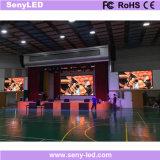 El panel de visualización publicitario video de LED del arreglo de la pared interior de la visualización (P3mm)