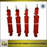 Cilindro hidráulico ativo do dobro da maquinaria feito em China