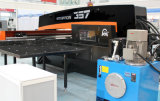 2017 máquina de perfuração hidráulica do CNC deslocamento predeterminado quente de Aixs da venda 4 do auto com frame próximo