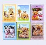Álbum de foto quente com preço de venda, álbum da série do urso da peluche dos desenhos animados da venda do bebê 4D