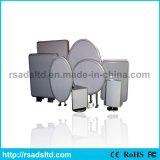 Boîte à lumière à aspiration LED à motif ovale personnalisé
