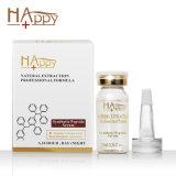 Anti siero di invecchiamento di pelle di cura del siero della migliore Happy+ del peptide grinza sintetica popolare cosmetica del siero anti