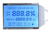 Stn 주문을 받아서 만들어진 파란 LCD 128X128 도표 LCD
