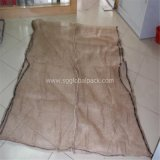 Бежевый мешок сетки PP для швырка упаковки