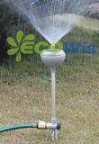 Spruzzatore chiaro solare di irrigazione del giardino