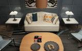 新しい到着ファブリックソファー、ホーム家具、シンプルな設計のソファー(M615)