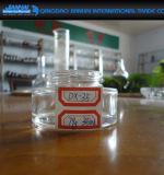 Frasco de creme cosmético de vidro transparente Largo-Mouthed dos produtos vidreiros