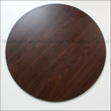 Grosse Beschaffenheits-Vertrags-Laminat-Tisch-oberste graue Farbe der Größen-120cm runde