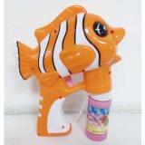 Jouet électrique animal d'été de canon de bulle de jouet de poissons