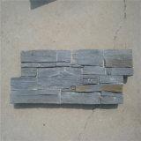 Панель каменной стены шифера культурная, естественный декоративный камень