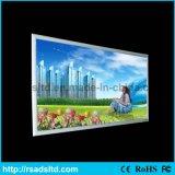 Caixa leve da tela ao ar livre & interna do indicador de diodo emissor de luz do alumínio